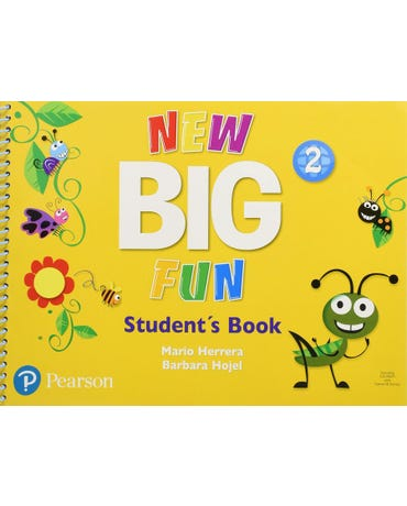 New Big Fun 2 - Student's Book With CD Room
